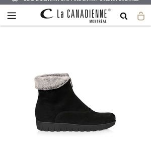 La CANADIENNE Boot- barely worn